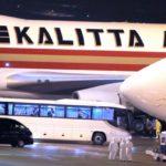 KALITTA AIR チャーター機で米国人を貨物輸送?もとはJAL機?